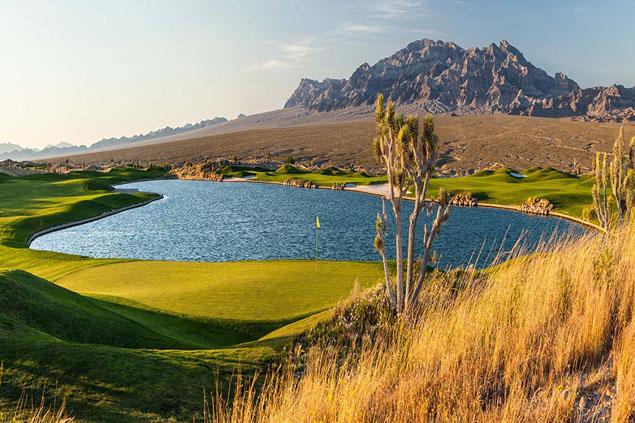 Paiute Golf Resort - Snow Mountain Course 10