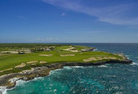 Seaside Dominican golf!