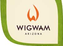 The Wigwam - Blue Course Logo