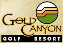 Gold Canyon - Dino Mountain Course Logo