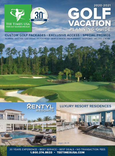 Free Florida Gulf Coast Golf Vacation Planner