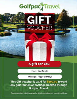 golfpactravel Golf Gift Certificates